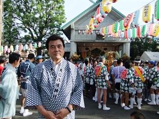 大島八幡神輿2014